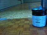 BCH moisture cured urethane gymnasium premium hardwood floor coating