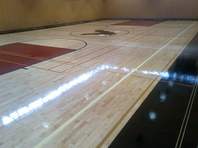 Gallery Gymnasium Wood Floor