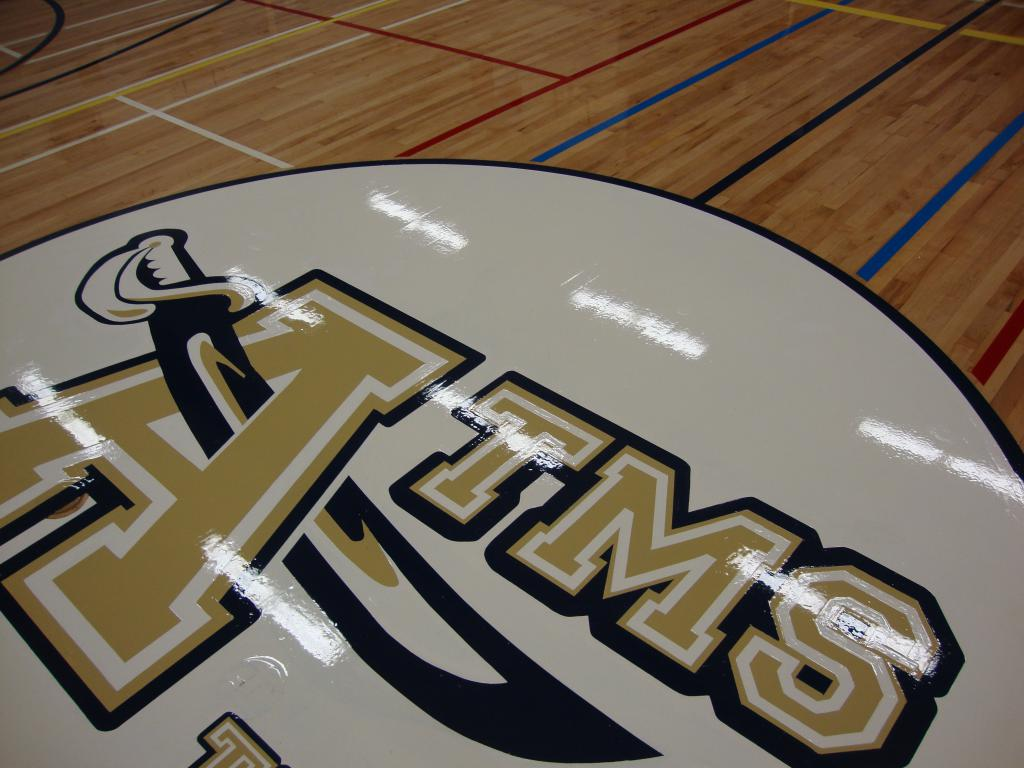 GYMNASIUMS LARGE AREA REFINISHING from AHF ...