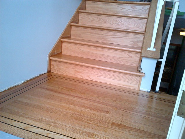 How To Finishing Oak Stair Treads : How To Finishing Oak Stair Treads : Replacement Oak Stair Treads