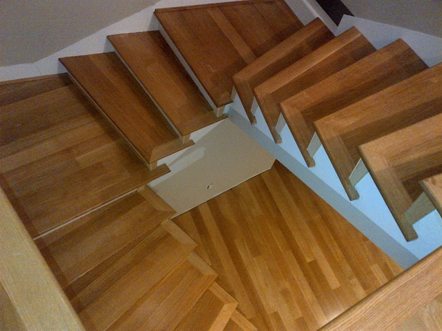 Ahf Hardwood Stairs Steps Installations For Burnaby