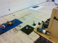 coquitlam gymnasium broken floor mount socket repair floor plate resetting