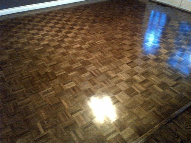 Maple Floor Finishes